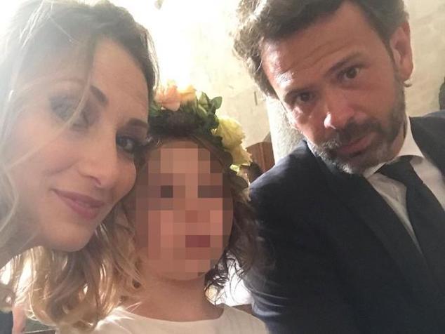 5 year old Italian orphan daughter: Valeria Coletta & Fabrizio Martino Marchi