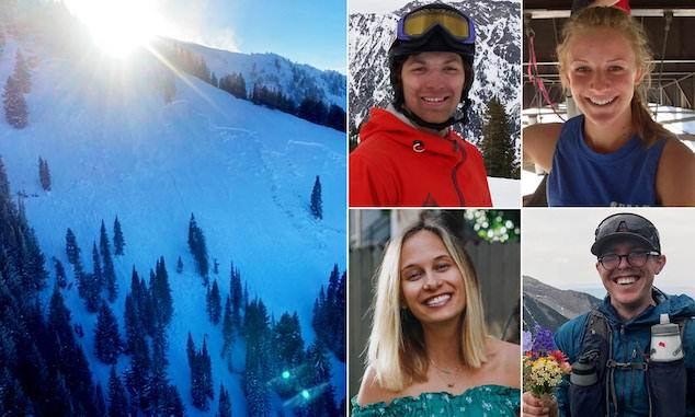 Millcreek Canyon avalanche victims