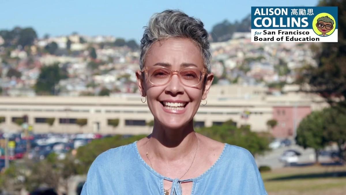 Alison Collins San Francisco Schools official