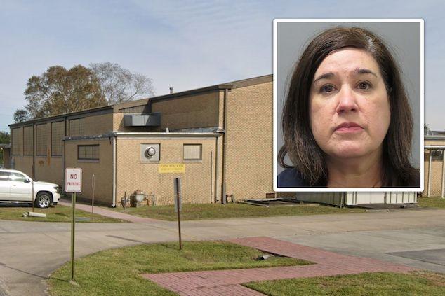 Ashleigh Landry Louisiana Lockport school principal