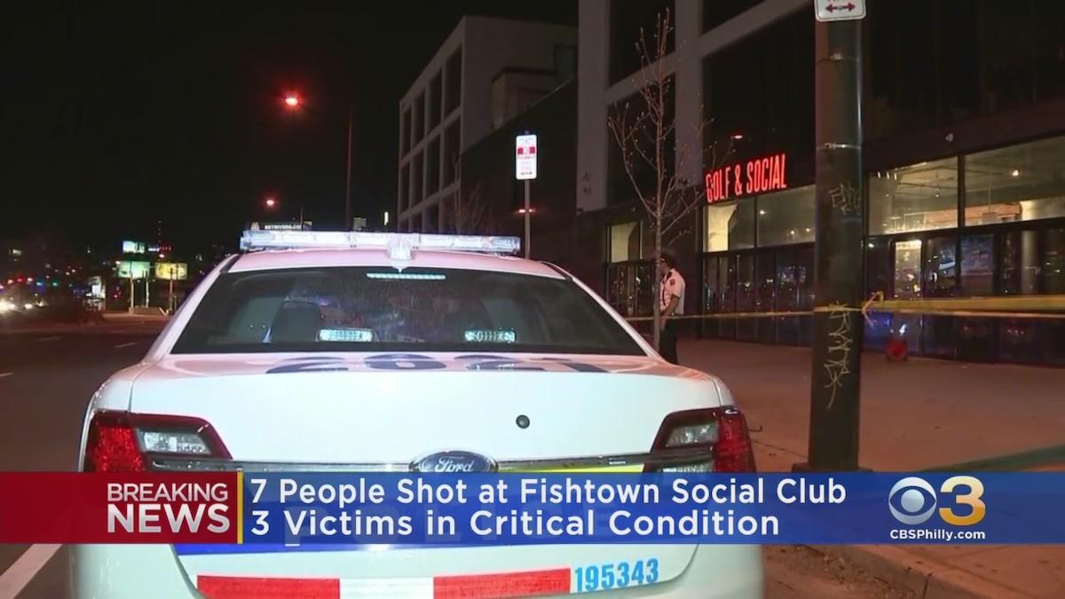Golf & Social Fishtown shooting