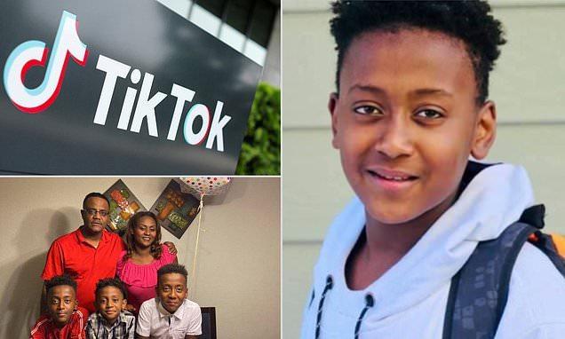 Joshua Haileyesus TikTok chocking blackout challenge