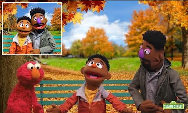 Sesame Street introduces two black muppets