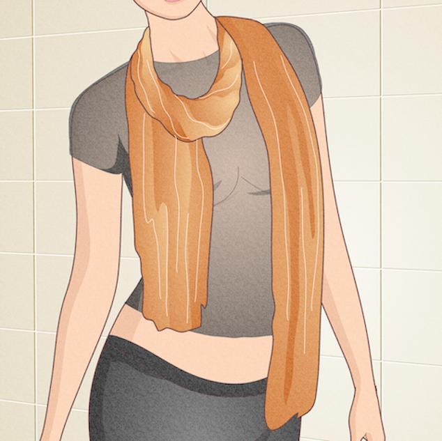 Sheer clothing fashion problems