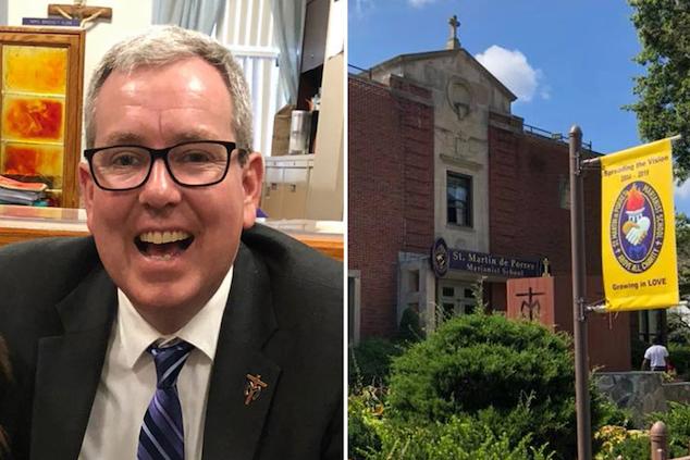 John Patrick Holian headmaster Long Island school