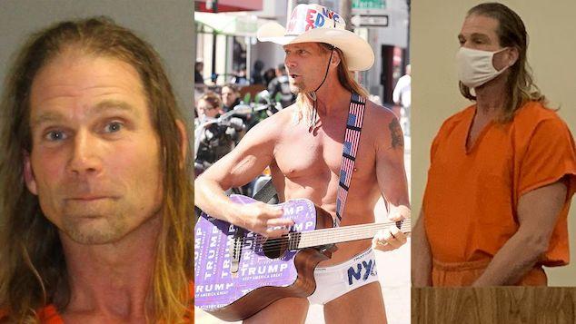 Robert Burck Times Square Naked Cowboy arrest