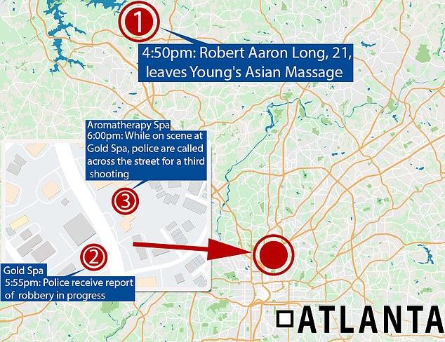 Atlanta massage parlor shootings