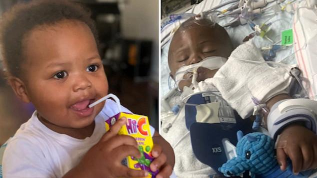 Daisha Smalls 1 year old baby boy Legend Smalls