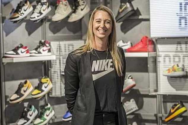 Ann Hebert Nike son