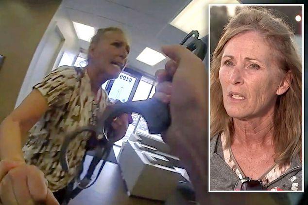 Terry Lynn Wright Texas City Office Depot anti mask arrest