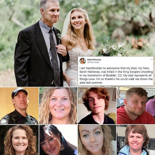 Boulder shooting victims names identified