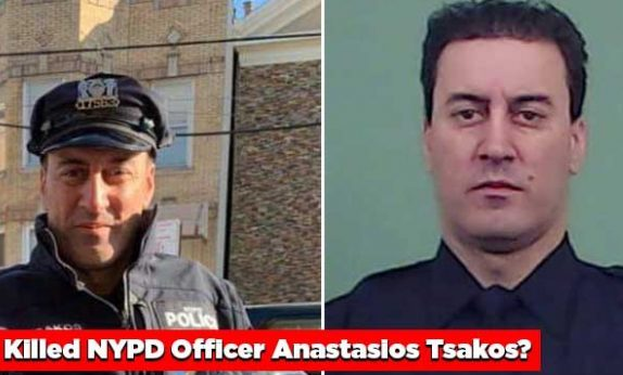 Anastasios Tsakos NYPD cop killed hit and run crash