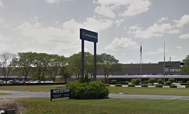 Navistar Plant Springfield Ohio April Fool's Day prank