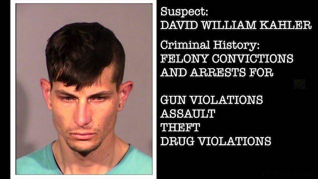 David William Kahler Las Vegas Burbank police shooting
