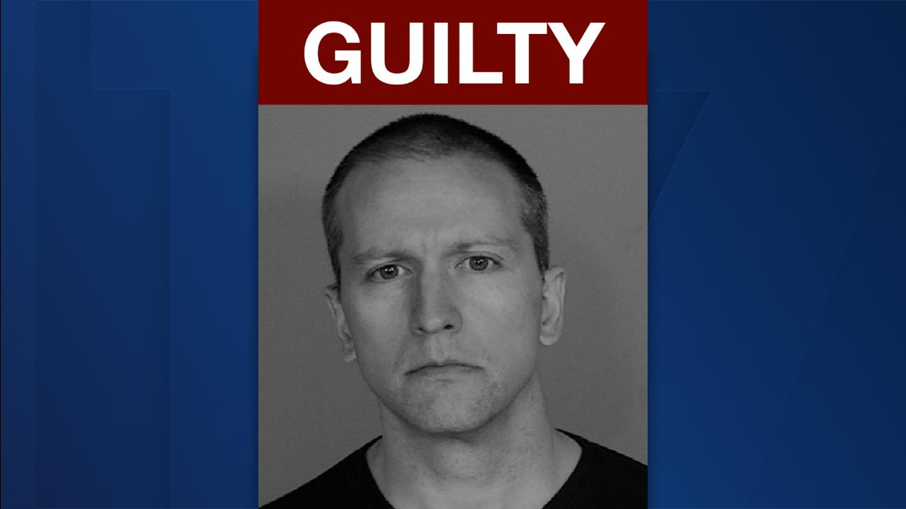 Derek Chauvin found guilty