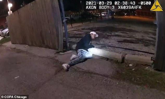 Adam Toledo shooting body cam video released