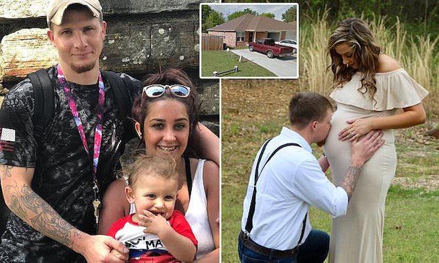 David Wayne Priest Van Buren AK man and wife Paiden Nicole Priest,