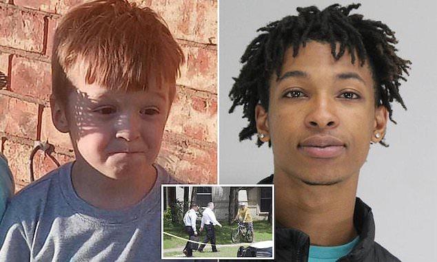 Cash Gernon Dallas boy was murdered by Darriynn Browom evil act