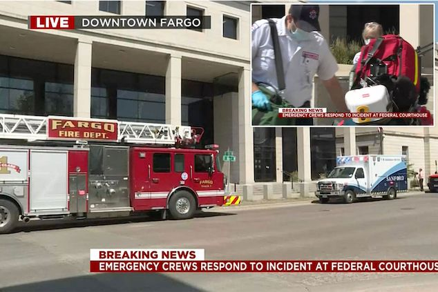 Man commits suicide inside Fargo courtroom