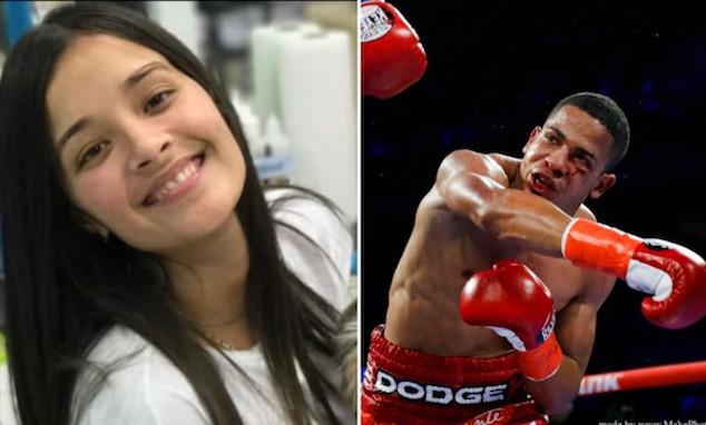 Keisha Rodriguez and Felix Verdejo Puerto Rico boxer