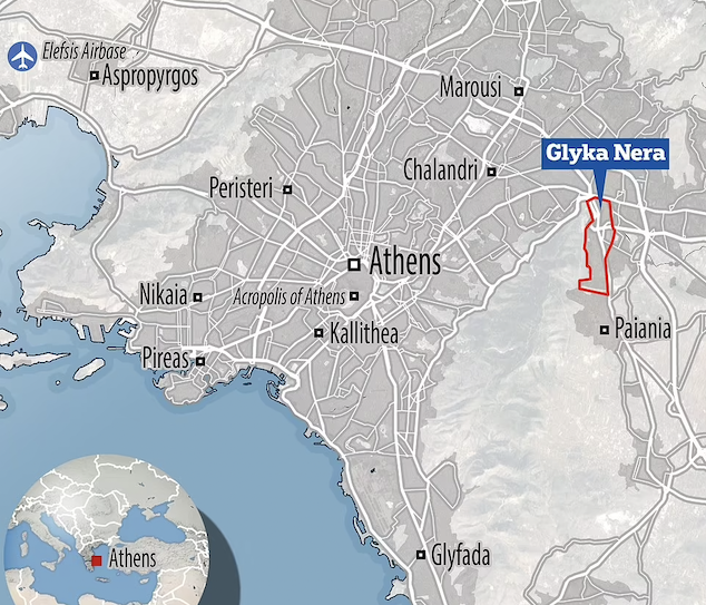 Athens Greece burglars murder British mom, 20, next to baby w/ husband tied up