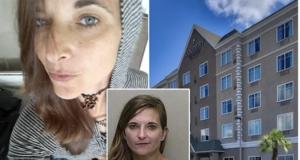 Melody Carr Ocala motel drunk