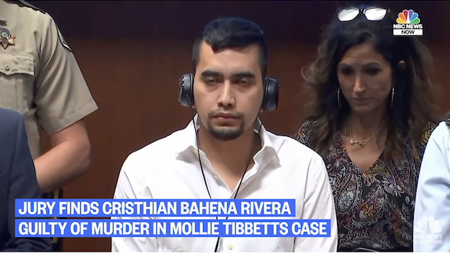 Cristhian Bahena Rivera guilty