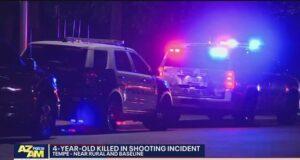 4 year old Tempe Arizona girl accidentally shoots self dead