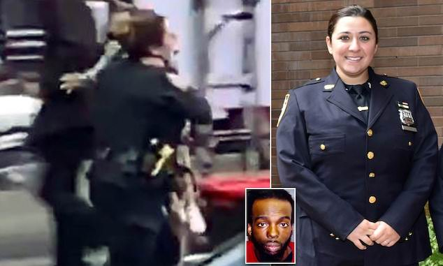 Alyssa Vogel NYPD cop Times Square shooting