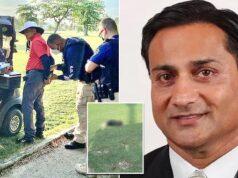Salil Zaveri Puerto Rico businessman shoots & kills dog on golf course