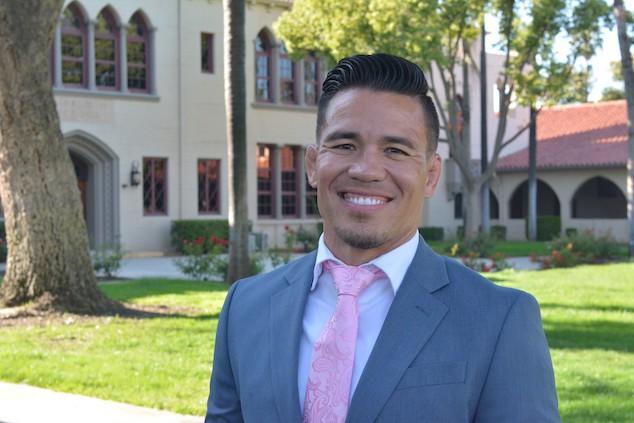 Ben Nakamura Stockton HS principal.