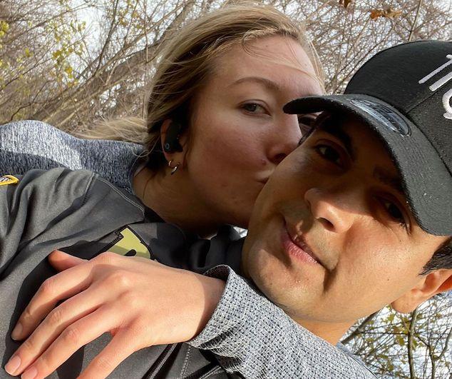 Fernando Munera & Alayna Hardy East Harlem girlfriend