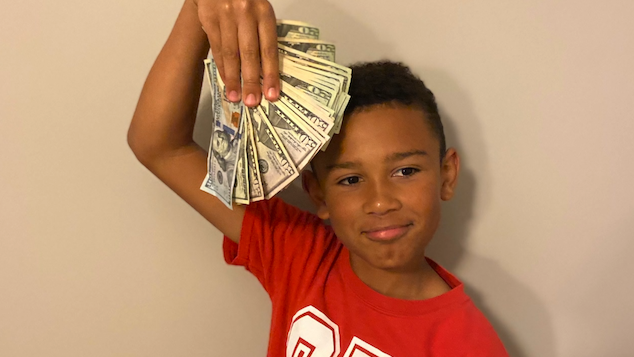 Indiana five year old boy finds $5,000 cleaning car