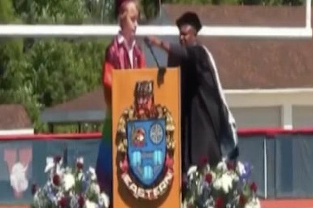 Bryce Dershem Voorhees gay valedictorian