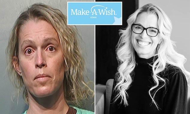 Jennifer Woodley Iowa Make A Wish CEO pleads guilty
