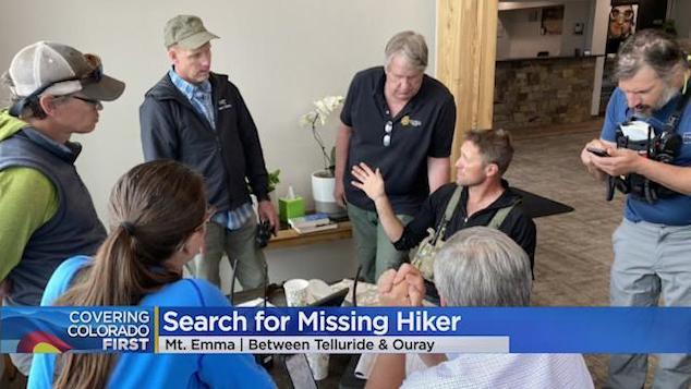 Patrick Eells Colorado hiker