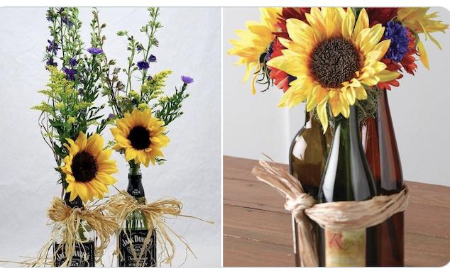 Dress-Up Flower Vases