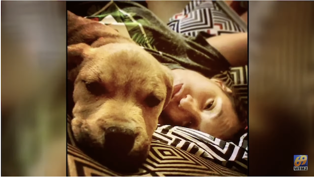 Asha Nieves dog