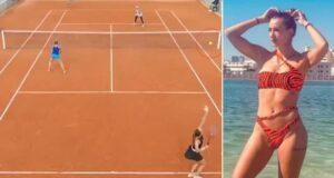 Yana Sizikova French Tennis Open
