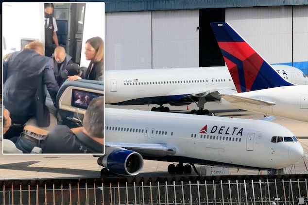 Delta Airlines flight diverted after unruly passenger tries to breach cockpit