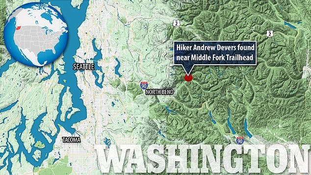 Andrew Devers missing hiker found alive