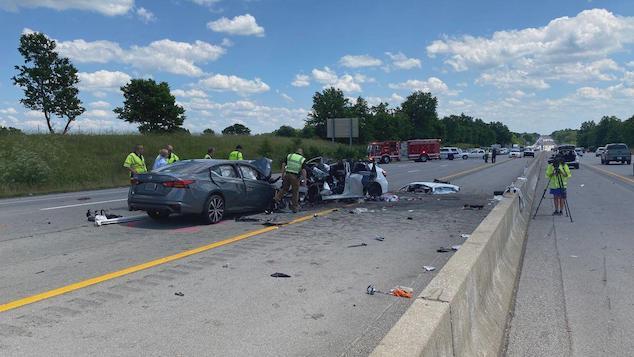 I-75 Kentucky crash Fayette County