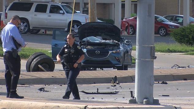 Samantha Russell pregnant Wichita KS woman killed in car crash