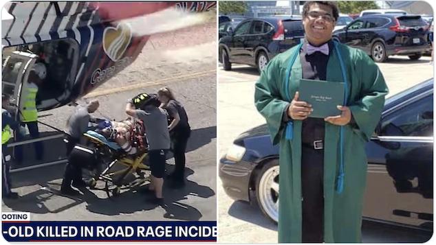 Fort Worth road rage shooting