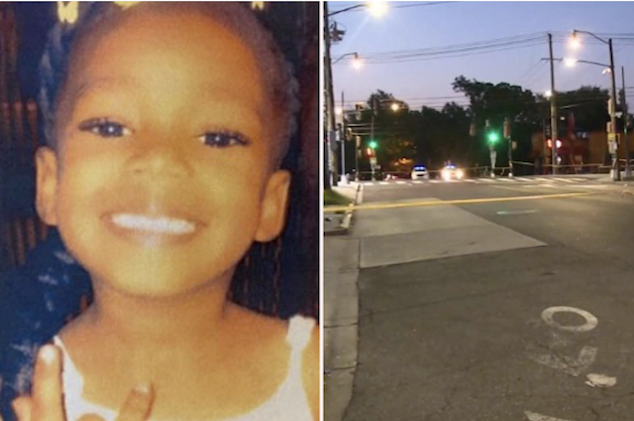 Nyiah Courtney DC 6 year old girl shot dead drive by shooting