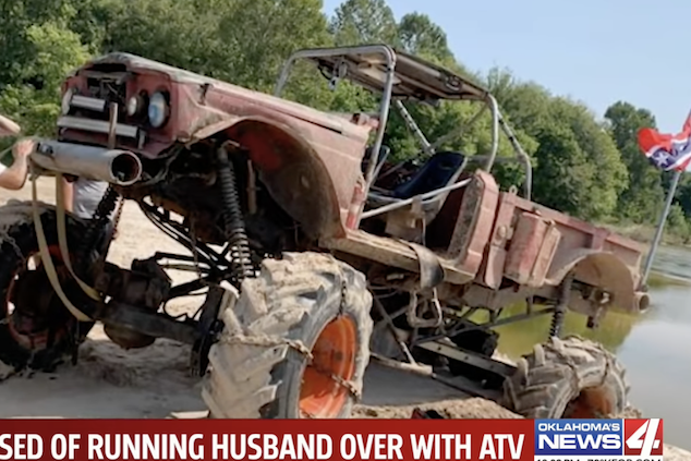Chanelle Lewis Oklahoma ATV