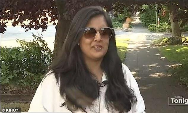 Farah Naz Khan Seattle mom diaper