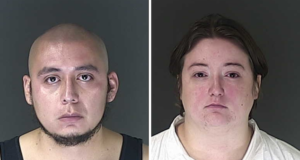 Carlos and Ashlynne Perez Colorado parents charged 4yr old son's accidental shooting death
