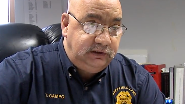 Anthony Campo Sheffield Lake Police Chief
