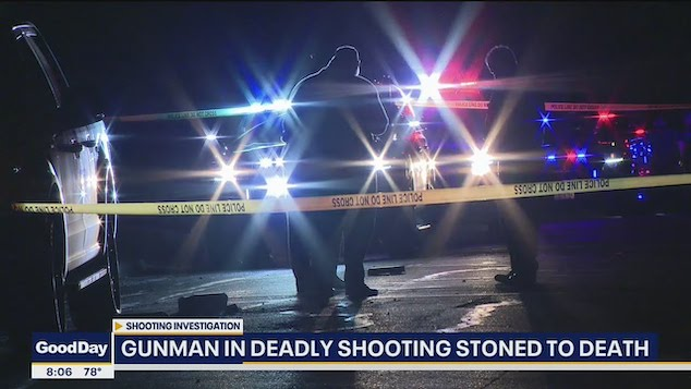 Fort Worth gunman stoned to death